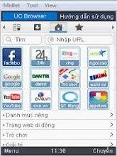 Phần mềm UC Browser lướt web khủng cho điện thoại